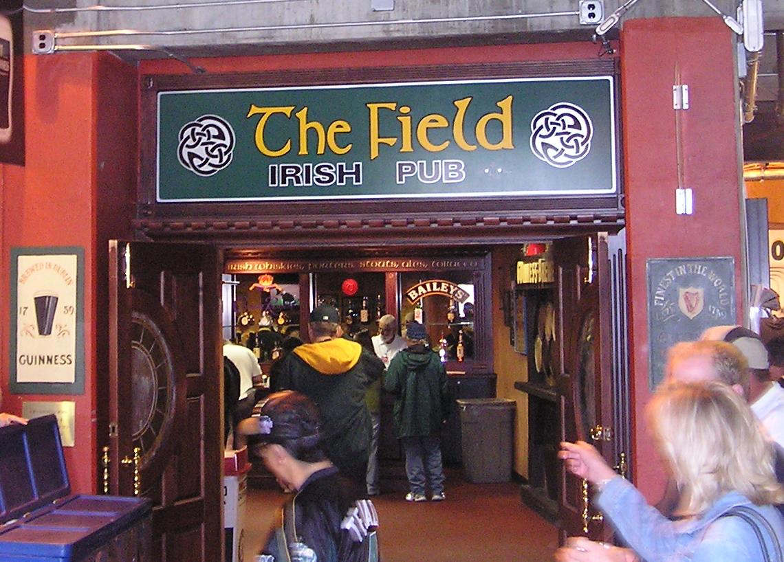 The Pub - An Irish Bar just there at the game